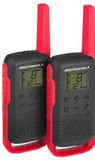 Walkie Talkie Motorola PMR Radio TLKR, T62 Red