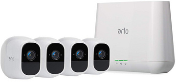 Arlo Pro 2 Wi-Fi camera completly wireless on batteries up to 1 week ( 4 HD Surveillance Camera & Security System)