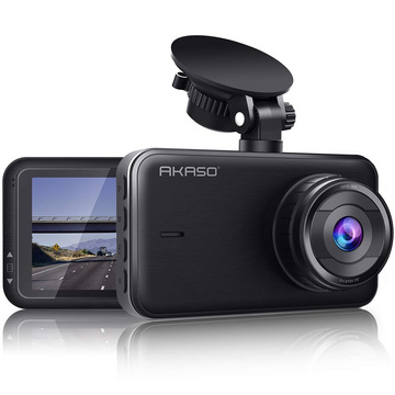 Dashcam 1080P FHD (2nd Gen.) DVR Car Camera 3 Inch IPS Image Shirt, Dash Cam 170° Wide Angle G-Sensor Super Night Vision, WDR Parking Monitor, Loop Recording, Fatigue Reminder