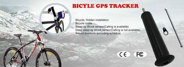 GPS tracking device for the bike