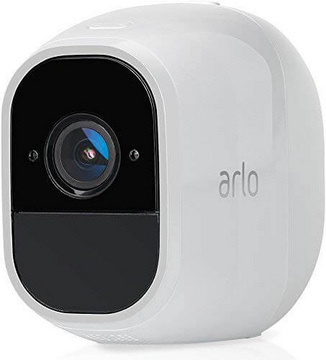 Arlo Ultra Smart Home 1 4K UHD and HDR surveillance camera (color night vision, works with Alexa, wireless, wireless, 180 degree viewing angle, spotlight, weatherproof, HD audio) white, VMS5140