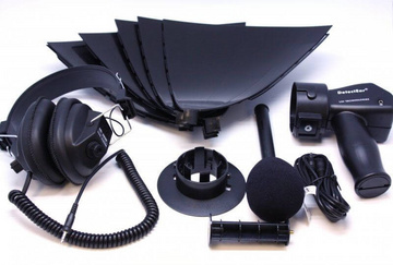 Detect Ear DetectEar Amplified Parabolic  Dish Microphone Hearing Listening Kit