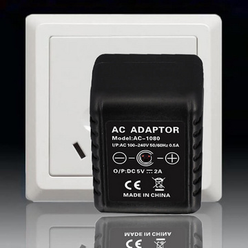 WiFi Hidden camera in the power adapter, adapter, phone charger