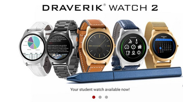 Draverik 2 - Smart watch for students, exam, test, not for cheating with pen